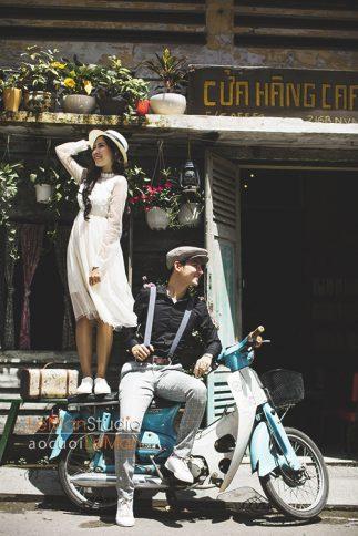 album cưới ngoại cảnh Sài Gòn