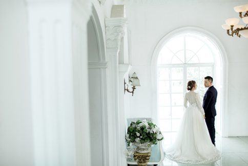 album cưới phim trường Paris